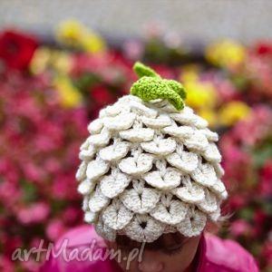 czapka ananas , czapka, wiosna, prezent, głowa, ciepły, włóczka ubranka
