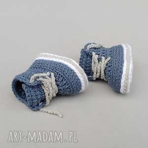 ręcznie robione buciki trampki stanford
