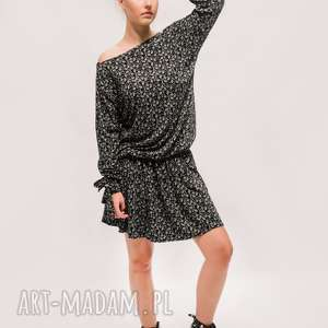 Sukienka na co dzień, boho-sukienka, luzna-sukienka, efektowna, mini-sukienka
