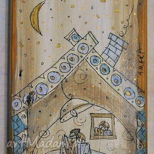 pomysł na upominek Deska ręcznie malowana (4), marinaczajkowska, dom, mieszkanie