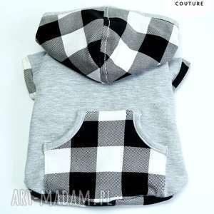 Bluza z kapturem dla psa, bluza, kurtka, ubranie, ubranko, szczeniak, pies