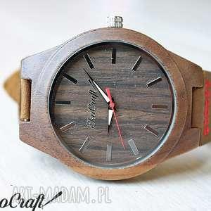 hand-made zegarki drewniany zegarek starling