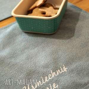 happyart podkładki na stół - 2 szt, tekstylia, podkładki, motywacyjne, stół, prezent