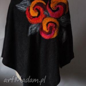handmade poncho tunika i kwiat magicznego ogrodnika