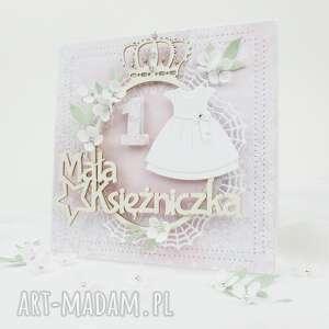 roczek małej księżniczki - w pudełku, urodziny, pierwsze, dziewczynki, życzenia