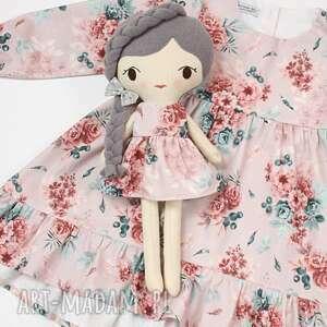 Lalka przytulanka zuzia, 45 cm lalki patchworkmoda lala