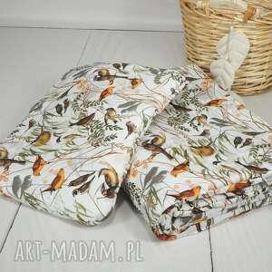 handmade pokoik dziecka komplet pościeli bawełnianej z wypełnieniem ptaki