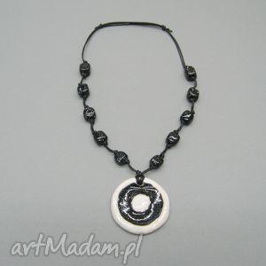 naszyjnik piękność nocy - naszyjnik, biżuteria, kobiecy, elegancki