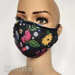 Maska, maseczka ochronna z filtem klasy f7 opaski feltrisimi