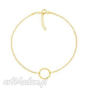 bransoletki geometry - okrąg bransoleta g, koło, okrąg, celebrytka, srebro