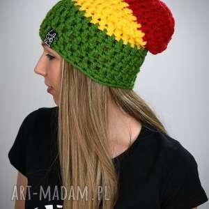 Czapka Rasta 07, czapka, czapa, reggae, rasta, jamajk, ciepła