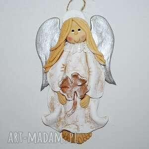 dom szczęście dam - aniol masy solnej, anioł, masa solna, prezent, na ścianę