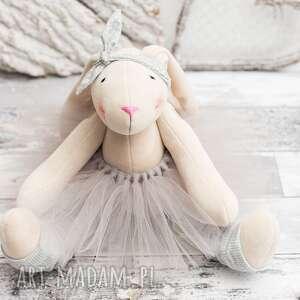 artshoplalashop królik przytulanka prezent, królik, prezent, pluszak