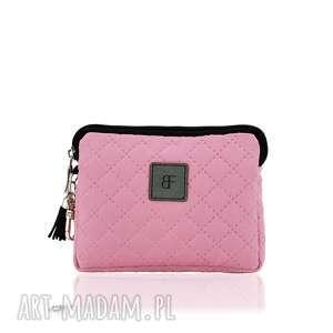 hand-made portfele portfelik simple 1146 różowy