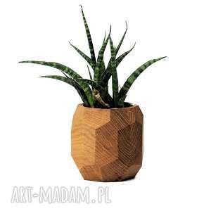 hand-made wazony doniczka geometryczna - planter na sukulenty