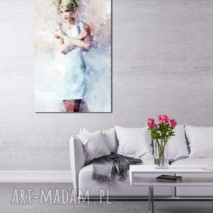 ręcznie wykonane obrazy obraz xxl kobieta 11 -70x120cm obraz na płótnie dziewczyna pani