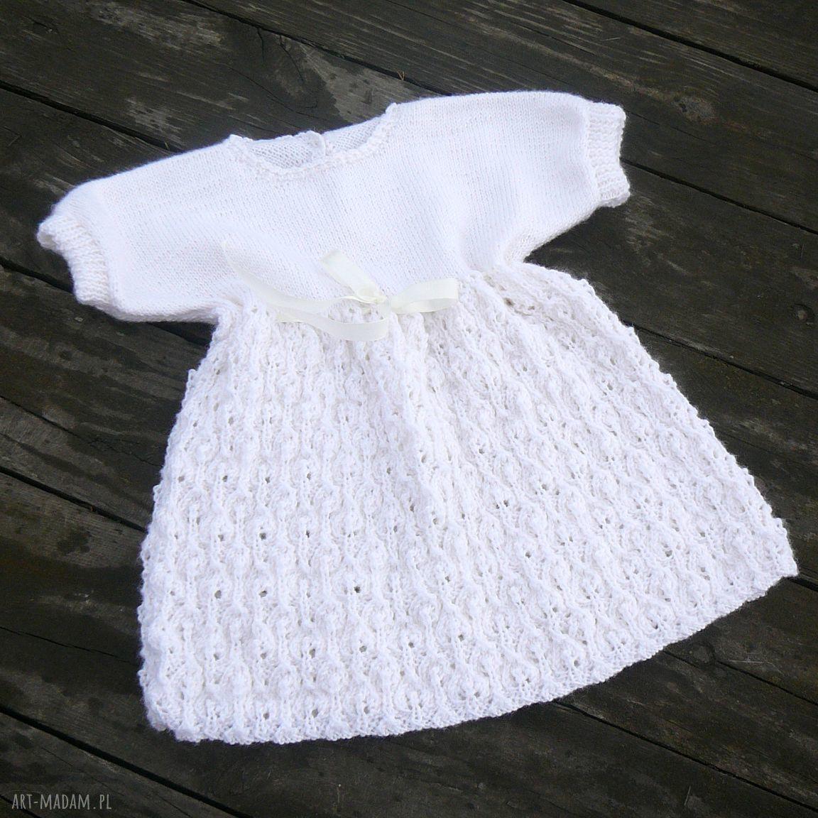 ręcznie robione ubranka sukieneczka zosia