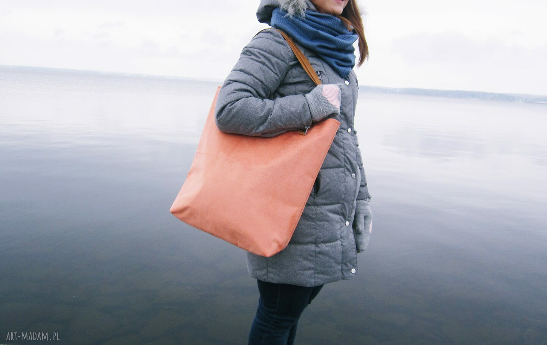 ręczne wykonanie torebki modna shopper bag