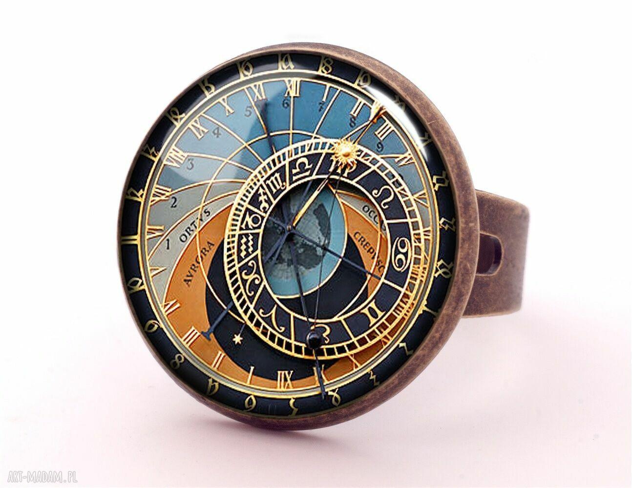 kolczyki sztyfty praski zegar - wkrętki