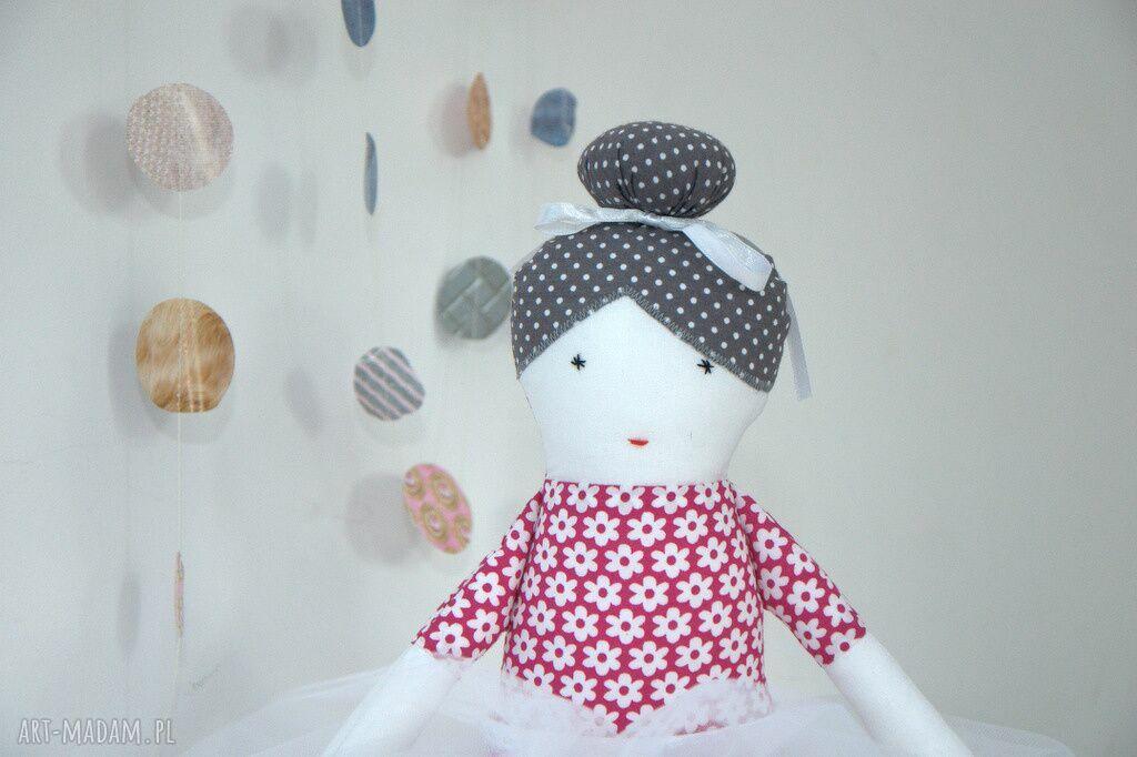 ręcznie zrobione lalki róża - baletnica