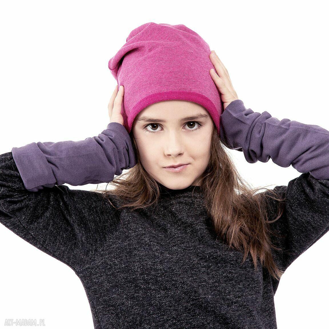 ubranka dzianina wygodna i praktyczna czapka