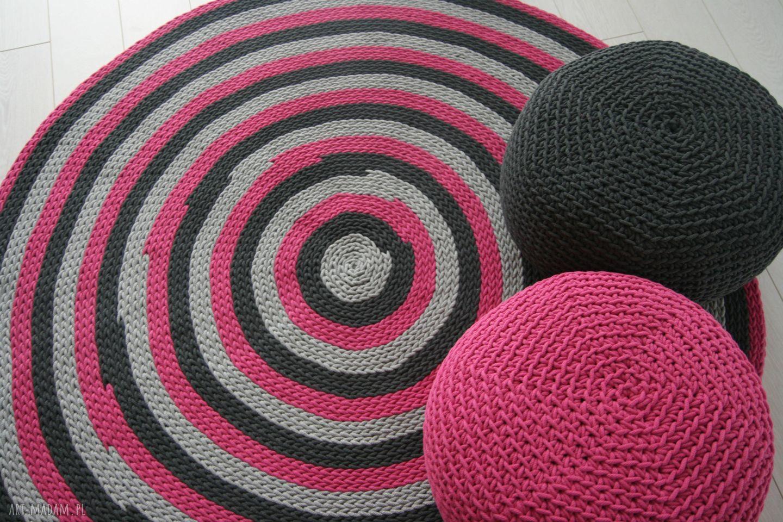 ręcznie zrobione dywany dywan średnica 160 cm