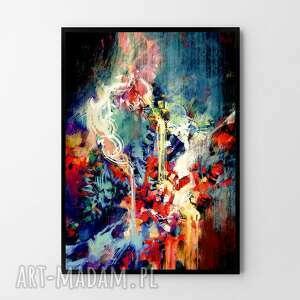 plakat obraz abstrakcja #1 50x70 cm b2, obraz, abstrakcja, plakat