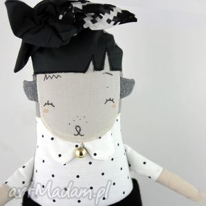 gunia lalka / przytulanka hand made, prezent, roczek, lalka, miękka, oryginalna