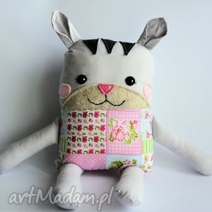 kotek tulikotek - wiola 40 cm, kotek, tulikotek, dziewczynka, romantyczna, maskotka