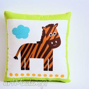poduszka dziecięca z zebrą, dziecko, poduszka, zebra, przytulanie, minky