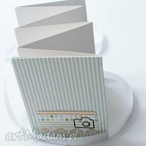album harmonijka na zdjęcia rozmiaru 9x13 cm - zielone