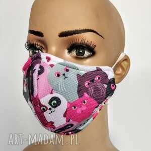 maseczka,maska ochronna z filtrem 7-12 lat, dziecinna, kolorowa