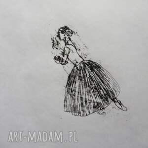grafika grafika baletnica