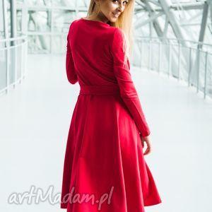 sukienki wheel pensoft red, sukienka, prezenty na święta