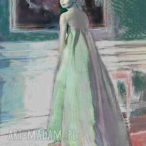 audrey hepburn i obraz, 60 x 70cm, hepburn, suknia givenchi, kobieta