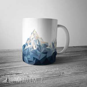 Kubek z górami, kubek, góry, grafika, dom, ceramika, kuchnia