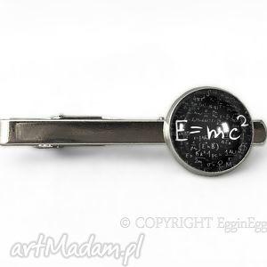 autorskie męska e=mc2 - spinka do krawata