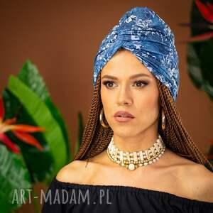 hand made ozdoby do włosów turban - magic garden
