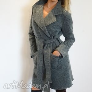 płaszcz morski - trencz, płaszcz, wełna, wełniany, okrycia, kurtki