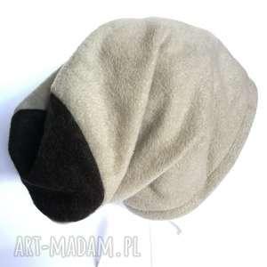 czapka damska ciepła zimowa długa, czapka, etno, boho, kolorowa, zima,