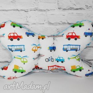 hand-made dla dziecka poduszka motylek, podróżna do wózka, fotelika.