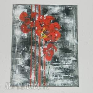 maki, nowoczesny-obraz, abstrakcja, obraz-abstrakcja, obraz-maki, ręcznie-malowany