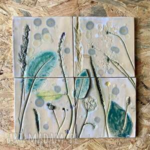 ceramika zestaw płytek ceramicznych lato, dekory ceramiczne, kafle