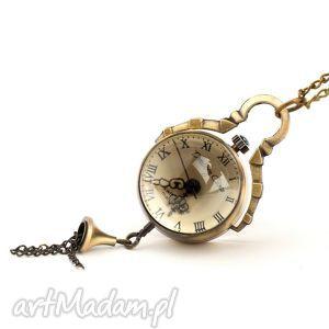 hand made zegarki mała kulka (golden)