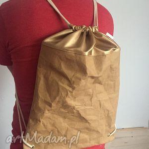 bywkml plecak miejski z papieru, washpapa, papierowy, plecak, miejski, prezent