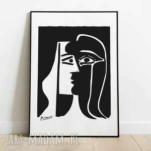 plakaty pablo picasso, inspiracja, plakat wystawowy 50x70