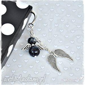 Prezent Nocny Anioł - zakładka , zakładka, anioł, aniołek, prezent, książka