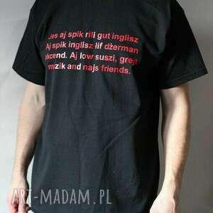 koszulka męska bawełniana z nadrukiem, tshirt, meski, prezent, nadruk