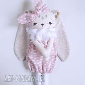 ręcznie zrobione lalki lalka królik malwinka