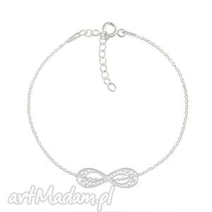celebrate - infinity 2 bracelet, nieskończoność, infinity, srebro